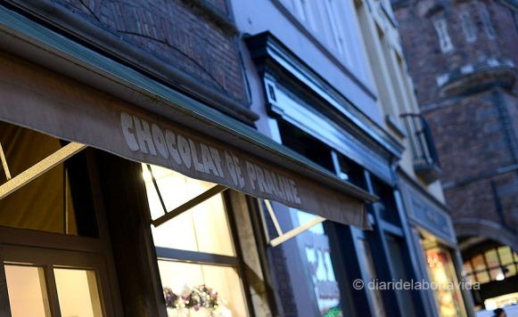Bruges també és famosa per les seves xocolateries