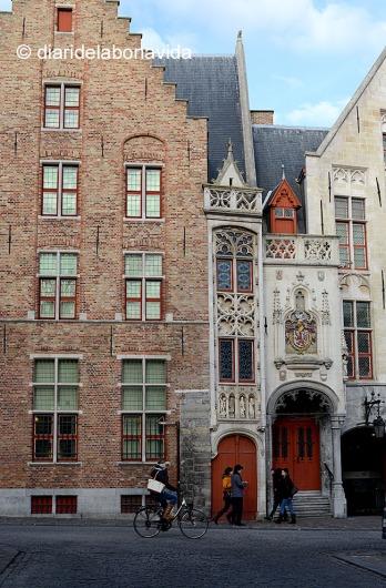 Cases típiques de Bruges