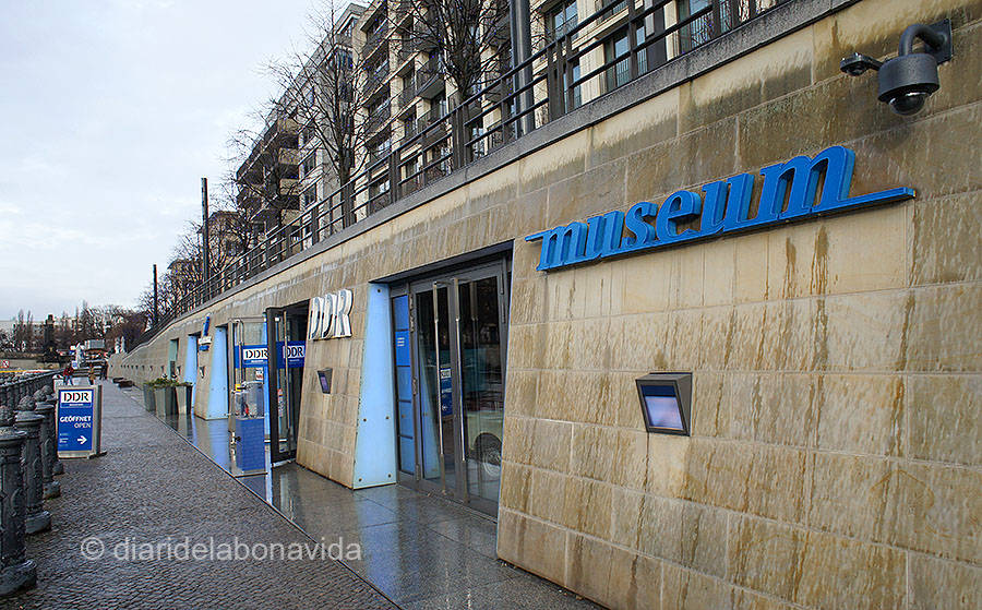 Façana del Museu DDR