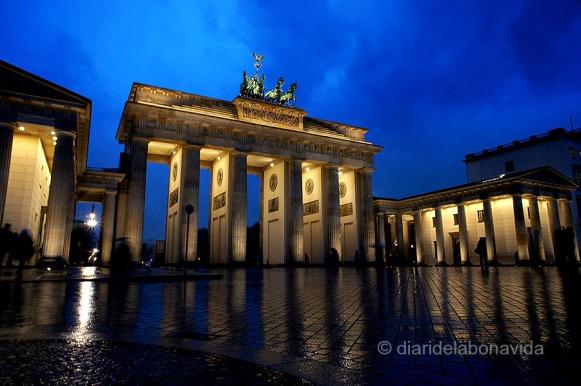 La Porta de Brandenburg és tot un símbol de la ciutat