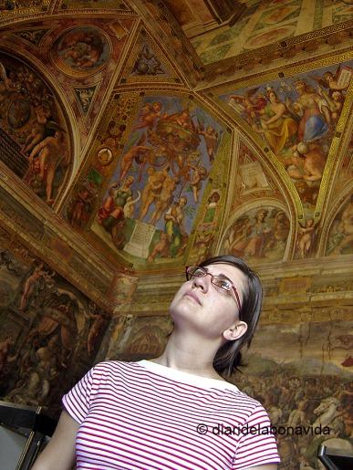Admirant les Sales de Rafael