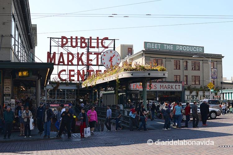 el Pike Place Market