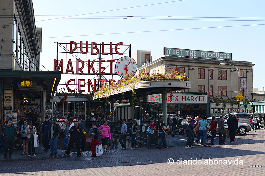el Pike Place Market