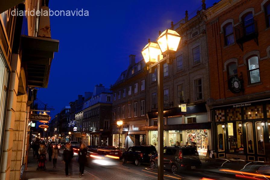 La Rue Sant-Jean és un dels carrers principals