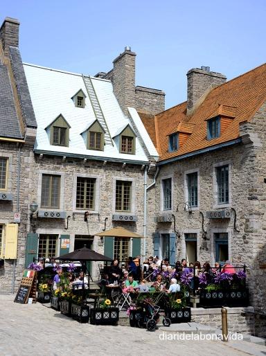 Terrasses a la Place Royale