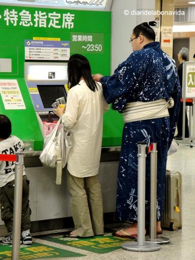 Qualsevol personatge que destaqui és mereixedor d'una foto. Tokyo