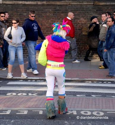 Moltes vegades, les mirades de la gent et condueixen al motiu a fotografiar. Londres
