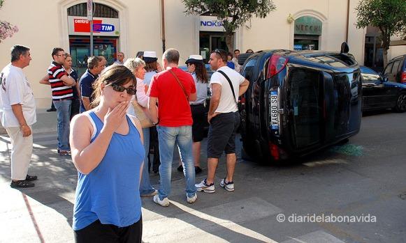 La casualitat ens pot col·locar davant d'un impacte visual. Sicilia