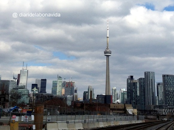 Skyline de Toronto, amb la popular CN Tower