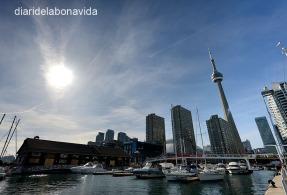Des del Harbourfront també tenim una bona imatge de la torre