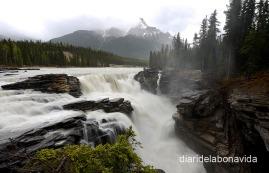 Una de les moltes cascades que ens podem trobar