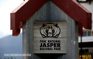 Cartell del Parc Nacional de Jasper