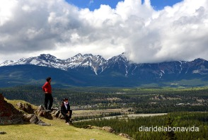 Gaudint d'unes inmillorables vistes al Jasper National Park