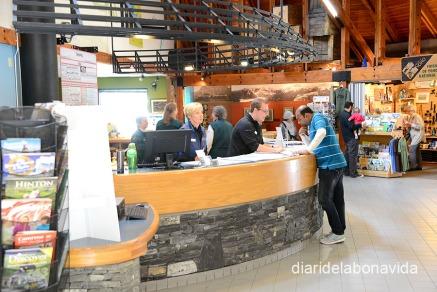 Els Visitors Center són el punt de partida de qualsevol excursió