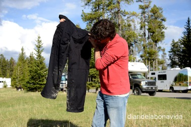 Ui, els pantalons s'han embrutat una mica a l'últim trekking