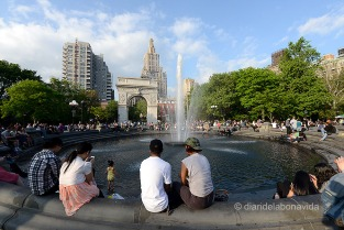 Washington Square i la seva font