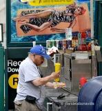 Un hotdog, please...