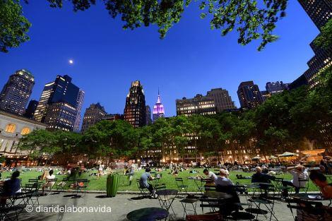Bryant Park és, per nosaltres, un dels llocs més macos de la ciutat