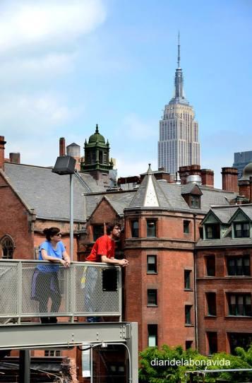Descansant del nostre recorregut per High Line