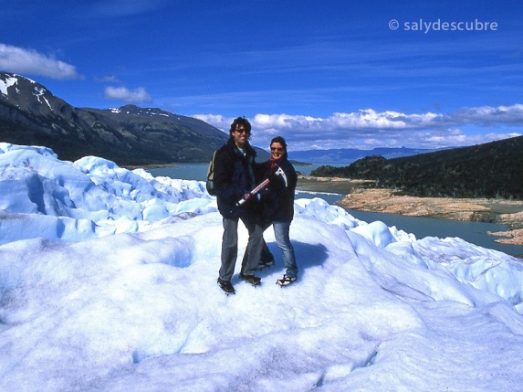 Trepitjant el Perito Moreno. Argentina