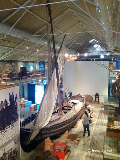 El Museu de la Pesca està situat al Port de Palamós