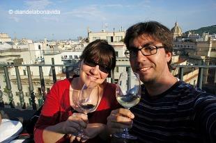 Amb el primer vi encara fèiem bona cara...