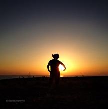 Juguem amb el sol al Cap de Barbaria