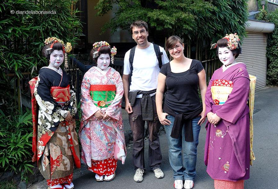 Fent amigues a Kioto