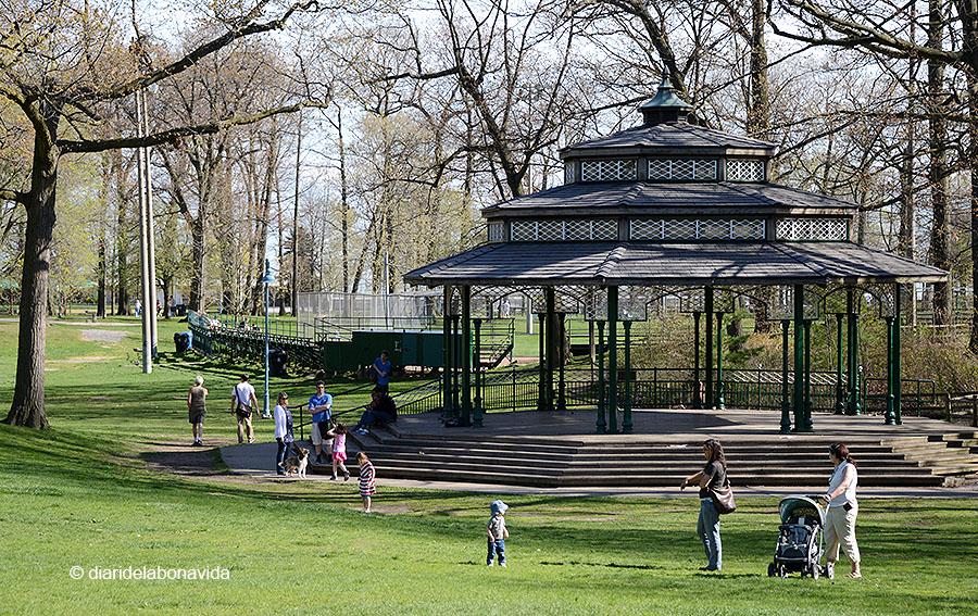 Kew Garden és el principal parc del barri