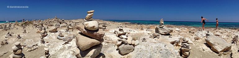 Tothom vol deixar empremta en forma de construcció de pedres