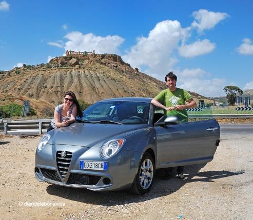 El cotxe ens va permetre moure'ns amb total llibertat