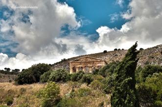 Ruines romanes a Segesta.