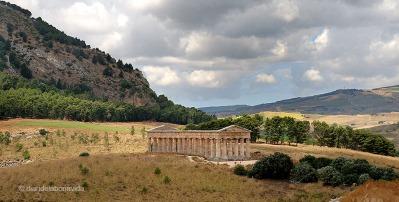 Temple romà a Segesta