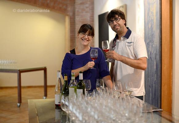 La cata de vins ens va encantar!!