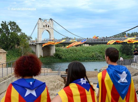 El pont de la ciutat era una imatge increïble!
