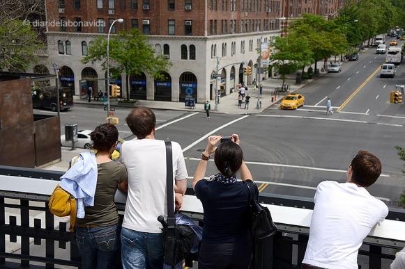 I la gent que passeja pel Parc té un punt de vista diferent de la ciutat
