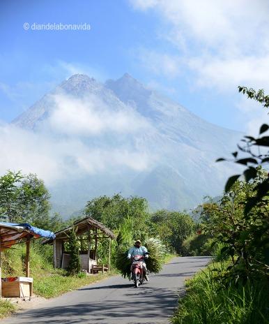 El volcà Gunnung Merapi