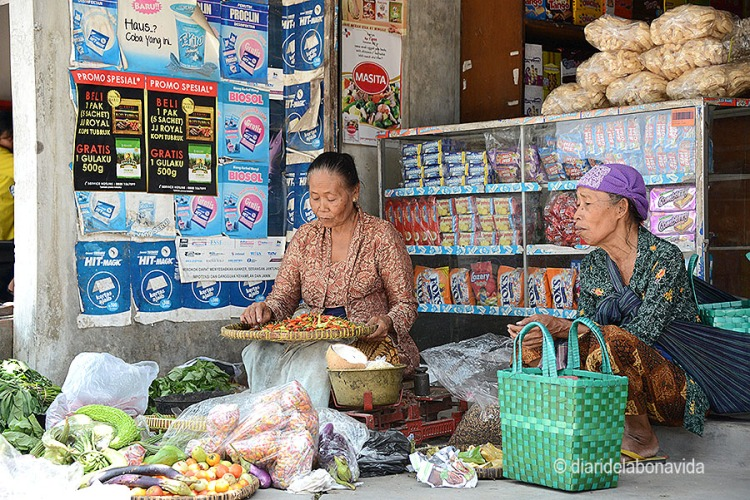 El mercat de Prambadan ens va encantar!