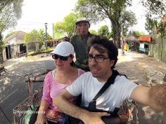 """Els """"becaks"""" són el mitjà de transport més barat per recòrrer la ciutat"""