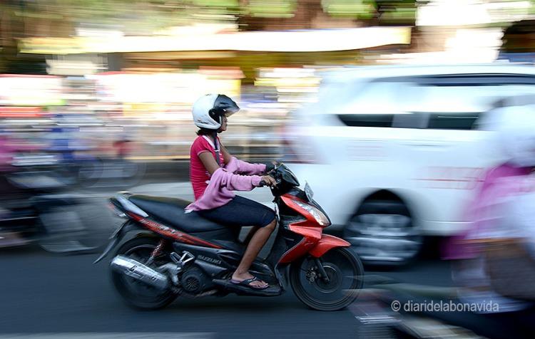 Les motos són les reines dels carrers.