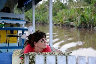 Relax i bona vida a bord del vaixell