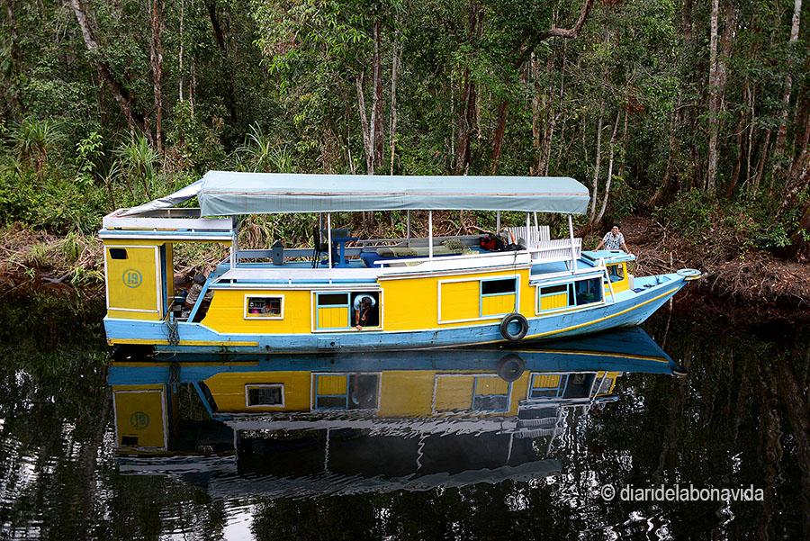 El nostre vaixell: Klotok Spirit