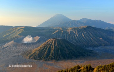 La panoràmica dels volcans és espectacular!