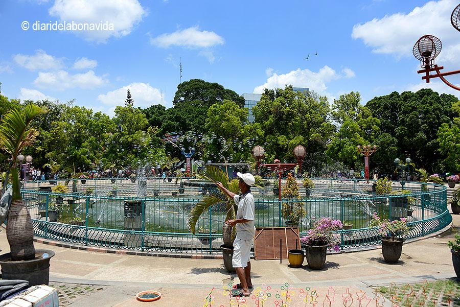 La plaça Alun Alun