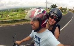 Recorrent Indonèsia en moto