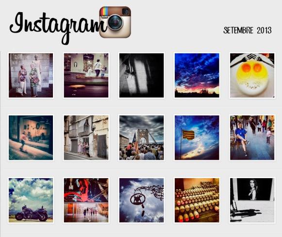 Clica per veure fotos Instagram Setembre 2013