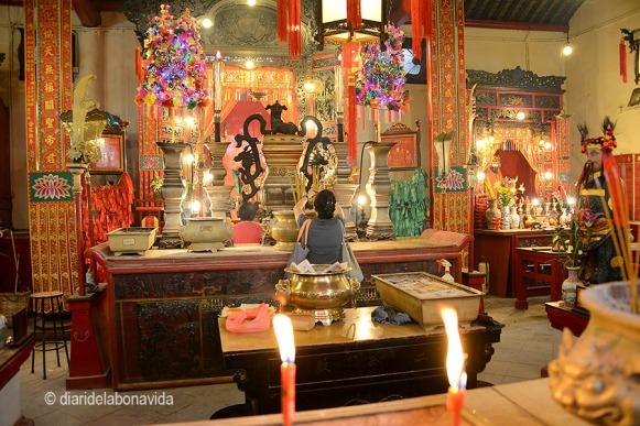 Interior del Mon Ma Temple