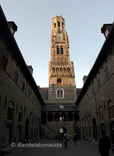 Belfort és tot un símbol a Bruges