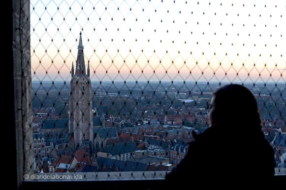 Podem observar l' Església de Nostra Senyora  (Onze Lieve Vrouwekerk)