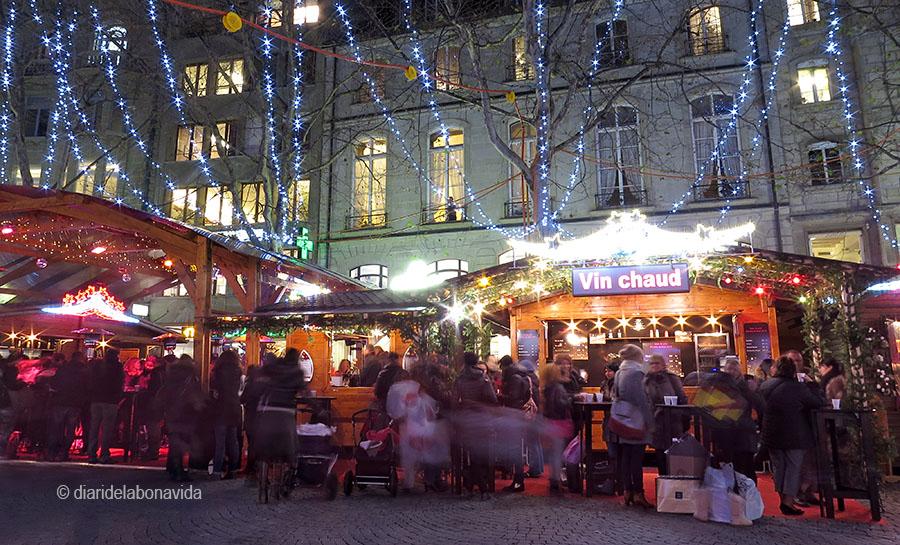 Laussane, Suiza. Mercat Nadal